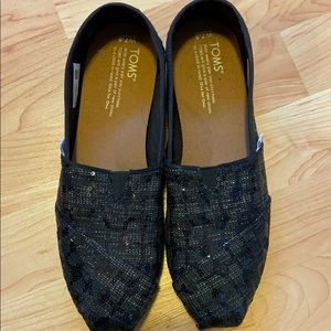 Toms-sequin-never worn- size 7.5